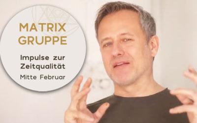 Impulse zur Zeitqualität Mitte Februar